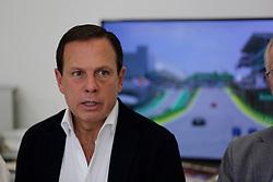 November 17, 2019, Sao Paulo, Sao Paulo, Brazil: Governor JOAO DORIA during the Formula One Grand Prix of Brazil 2019 at Interlagos circuit, in Sao Paulo, Brazil, on Sunday, November 17. (Credit Image: © Paulo Lopes/ZUMA Wire)