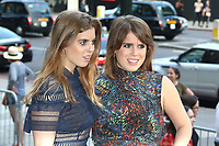 Princess Beatrice, Princess Eugenie, V&A Summer Party, Victoria & Albert Museum, London UK, 21 June 2017, Photo by Richard Goldschmidt