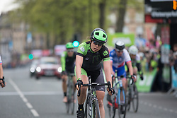 Sheyla Gutierrez Ruiz (ESP) of Cylance Pro Cycling finishes in seventh place in the Tour de Yorkshire - a 122.5 km road race, between Tadcaster and Harrogate on April 29, 2017, in Yorkshire, United Kingdom.