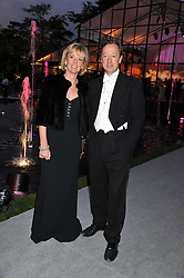 GEORDIE GRIEG and his twin sister LAURA LONSDALE at the Raisa Gorbachev Foundation Gala held at the Stud House, Hampton Court, Surrey on 22nd September 22 2011