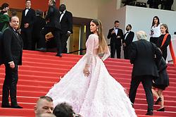 May 22, 2019 - Cannes, France - 72eme Festival International du Film de Cannes. Montée des marches du film ''Roubaix, une lumiere (Oh Mercy!)''. 72th International Cannes Film Festival. Red Carpet for ''Roubaix, une lumiere (Oh Merci!)'' movie.....239728 2019-05-22  Cannes France.. Mittenaere, Iris  (Credit Image: © L.Urman/Starface via ZUMA Press)