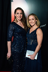 18-12-2019 NED: Sports gala NOC * NSF 2019, Amsterdam<br /> The traditional NOC NSF Sports Gala takes place in the AFAS in Amsterdam / Marhinde Verkerk, Céline van Gerner