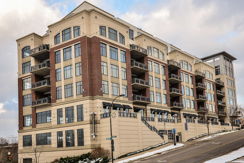 Exterior view of Northside Lofts apartments.