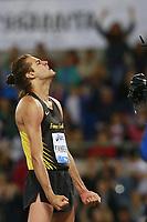 Delusione di Gianmarco Tamberi ITA High Jump Men, dejection  <br /> Roma 02-06-2016 Stadio Olimpico.<br /> IAAF Diamond League 2016<br /> Atletica Legera <br /> Golden Gala Meeting - Track and Field Athletics Meeting<br /> Foto Cesare Purini / Insidefoto