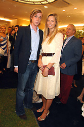 OLIVIA HUNT and PRINCE MAX ZU SALM-HORSTMAR at the launch party for the Mappin & Webb Regents Street branch at 132 Regent Street, London on 19th June 2007.<br />