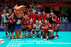 20200108 NED: Olympic qualification tournament women Belgium - Germany, Apeldoorn