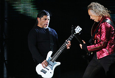 Metallica play a sold out show for 50.000 people in MIlano, Italy - 08 May 2019