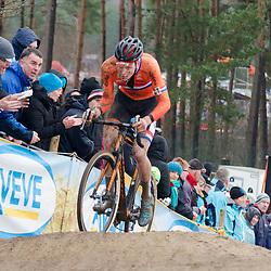 31-01-2016: Wielrennen: WK cyclecross elite: Heusden ZolderHEUSDEN-ZOLDER (BEL) cyclocrossOp het circuit van Terlamen-Zolder streden de elite veldrijders om de mondiale titels in het veld. <br /> WK Zolder: Mathieu van der Poel