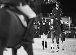 Farrington Kent, (USA), Creedance<br /> Laiterie de Montaigu Trophy<br /> Longines Masters Paris 2016<br /> © Hippo Foto - Cara Grimshaw