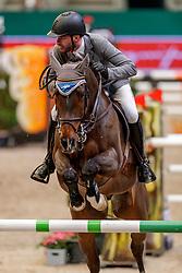 WEISHAUPT Philipp (GER), Coby<br /> Leipzig - Partner Pferd 2020<br /> IDEE Kaffee-Preis<br /> Springprfg. nach Fehlern und Zeit, int<br /> 17. Januar 2020<br /> © www.sportfotos-lafrentz.de/Stefan Lafrentz