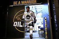 GET-ligaen Ice Hockey, 27. october 2016 ,  Stavanger Oilers v Stjernen<br /> Dennis Sveum fra Stavanger Oilers i løpet av pause mot Stjernen<br /> Foto: Andrew Halseid Budd , Digitalsport