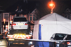 © Licensed to London News Pictures. 05/01/2013. A parked car being removed from Mayfield Crescent in Thornton Heath, South London, where the body of of mother Janelle Duncan-Bailey was found by detectives investigating her disappearance. The body of of mother Janelle Duncan-Bailey was found in the car. Photo credit : Grant Falvey/LNP