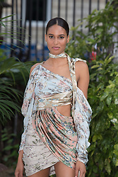 Cindy Bruna attends Atelier Swarovski - Cocktail Of The New Penelope Cruz Fine Jewelry Collection during Paris Haute Couture Fall Winter 2018/2019 in Paris, France on July 02, 2018. Photo by Nasser Berzane/ABACAPRESS.COM