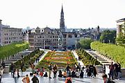 Belgie, Brussel, 14-5-2019 De Kunstwijk, Quartier des Arts in het centrum van de stad met uitzicht op de grote markt .. Foto: Flip Franssen