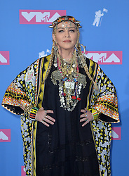 August 20, 2018 - New York, New York, U.S. - MADONNA in the 2018 MTV Video Music Awards Press Room at Radio City Music Hall in New York City  (Credit Image: © Kristin Callahan/Ace Pictures via ZUMA Press)