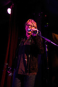 Mike Mills of R.E.M. performs with Glen Hansard of The Frames at the afterparty for The Music of R.E.M. at Carnegie Hall held at City Winery in NYC.