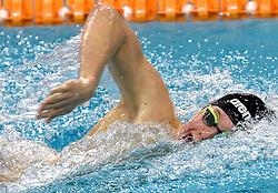 03-04-2015 NED: Swim Cup, Eindhoven<br /> Maarten Bzoskowski wordt tweede op de 1500 meter