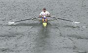 © Intersport Images <br /> email info@Intersport-images.com<br /> [Mandatory Credit;Peter Spurrier/Intersport Images]<br /> <br /> Photo Peter Spurrier<br /> Junior World Rowing Championships 2001<br /> 6  - 11th August 2001<br /> Regattabahn Duisburg -Wedau.<br /> Wed 8-8-01 AM.<br /> Heat of the men's single, GBR Matthew Langridge, moves of the start. 20010808 FISA Junior World Rowing Championships, Duisburg. Germany
