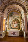Italy, Lazio, Tivoli, Interior of Villa d'Este