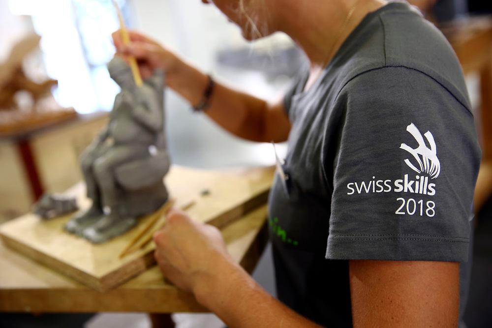 Holzbildhauer/in EFZ / Sculpteur sur bois CFC / Sculptrice sur bois CFC / Scultore su legno (AFC) / Scultrice su legno (AFC) / Netzwerk Kleinstberufe / R?seau m?tiers rares / Rete microprofessioni<br /> ©  Stefan Wermuth