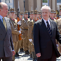Laszlo Solyom hotss president's visit to Hungary