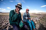 The Tinku Fighting festival in Macha Bolivia