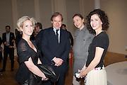 ELIZABETH ESTEVE; SIMON DE PURY; MICHAELA DE PURY; MOLLIE DENT-BROCKLEHURST, Calder After The War. Pace London. Burlington Gdns. London. 18 April 2013.