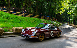 Boness Revival hillclimb motorsport event in Boness, Scotland, UK. The 2019 Bo'ness Revival Classic and Hillclimb, Scotland's first purpose-built motorsport venue, it marked 60 years since double Formula 1 World Champion Jim Clark competed here.  It took place Saturday 31 August and Sunday 1 September 2019. 85 Brendan Mullen Porsche 911T