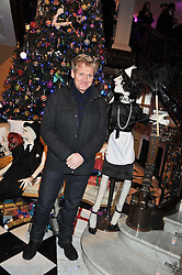 GORDON RAMSAY at the unveiling of the Claridge's Christmas tree 2011 designed by Alber Elbaz for Lanvin held at Claridge's, Brook Street, London on 5th December 2011.