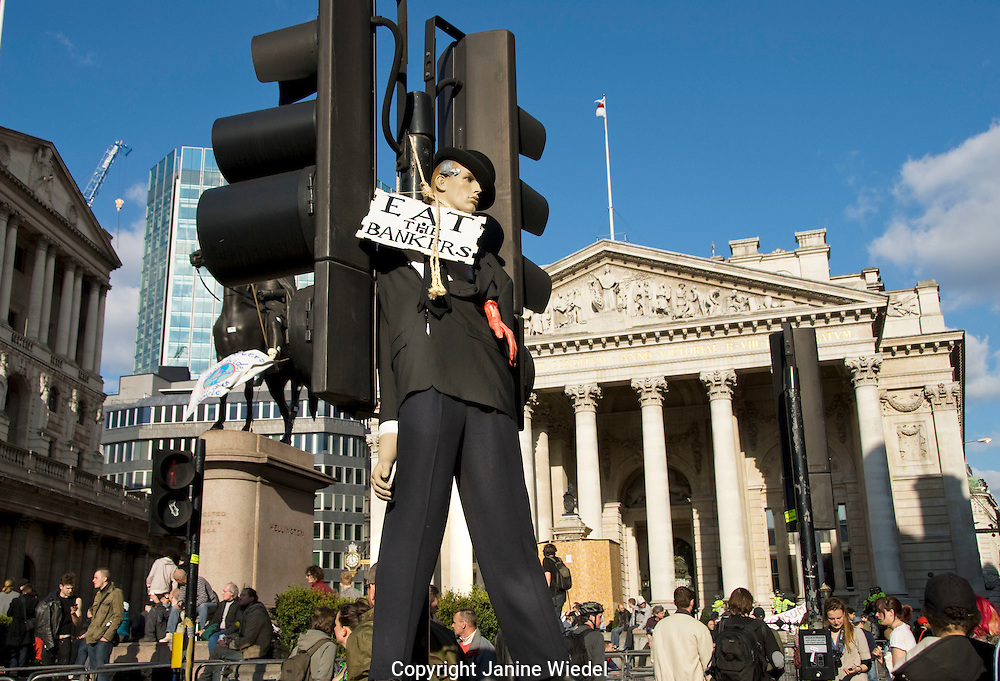 G20 protest in london 1st April 2009