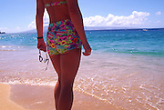 Swimming, Kaanapali Beach, Maui, Hawaii<br />