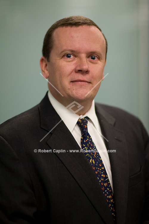 David Hooper of Centerview, a new investment bank in New york City . Feb. 11, 2008.