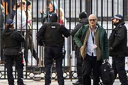 © Licensed to London News Pictures. 26/02/2020. London, UK. Special Advisor to the Prime Minister Dominic Cummings arrives in Downing Street. Photo credit: George Cracknell Wright/LNP
