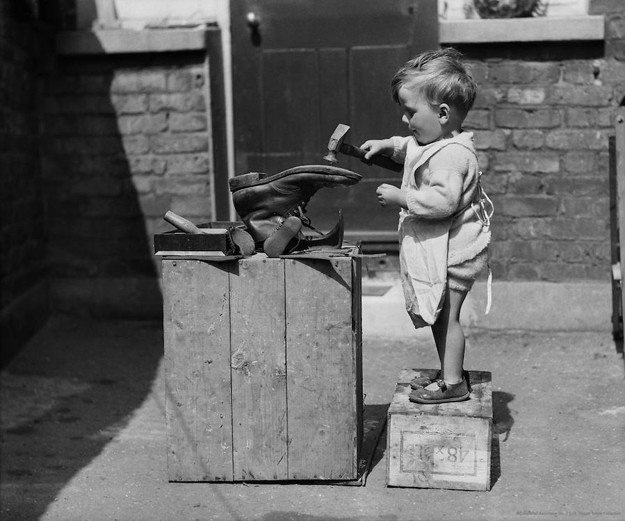 The Amateur Cobbler, England, 1932