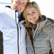 Fotosessie met de koninklijke familie in Lech /// Photoshoot with the Dutch royal family in Lech ...Op de foto / On the photo: Prinses Maxima en Prins Willem Alexander /////  Princess Maxima and Crown Prince Willem Alexander