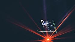 29.09.2018, Energie AG Skisprung Arena, Hinzenbach, AUT, FIS Ski Sprung, Sommer Grand Prix, Hinzenbach, im Bild Yukiya Sato (JPN) // Yukiya Sato of Japan during FIS Ski Jumping Summer Grand Prix at the Energie AG Skisprung Arena, Hinzenbach, Austria on 2018/09/29. EXPA Pictures © 2018, PhotoCredit: EXPA/ JFK