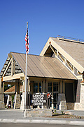 The Canyon Education and Visitor Center, Canyon Village, Yellowstone Natoinal Park, Wyoming.