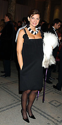 NATALIE MASSENET at the 2005 British Fashion Awards were held at The V&A museum, London on 10th November 2005.<br /><br />NON EXCLUSIVE - WORLD RIGHTS