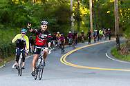 Riders are enthusiastic on Braking AIDS Ride. The 275-mile AIDS ride from Boston to New York benefits Housing Works.