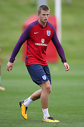 England's Eric Dier during a training session at St Georges' Park, Burton.