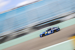 November 17, 2018 - Homestead, Florida, U.S. - Kyle Larson (42) takes to the track to practice for the Ford 400 at Homestead-Miami Speedway in Homestead, Florida. (Credit Image: © Justin R. Noe Asp Inc/ASP)