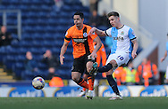 Tom Cairney, Blackburn Rovers midfielder during the Sky Bet Championship match between Blackburn Rovers and Brighton and Hove Albion at Ewood Park, Blackburn, England on 21 March 2015.