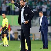 Besiktas's coach Slaven Bilic during the Turkish soccer super league match Bursaspor between Besiktas at the Ataturk Stadium in Bursa Turkey on Monday, 22 September 2014. Photo by TURKPIX