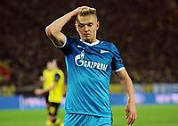 Fotball<br /> Tyskland<br /> 19.03.2014<br /> Foto: Witters/Digitalsport<br /> NORWAY ONLY<br /> <br /> Oleg Shatov (Zenit)<br /> Fussball, Champions League, Achtelfinale Rueckspiel, Borussia Dortmund - Zenit St. Petersburg 1:2