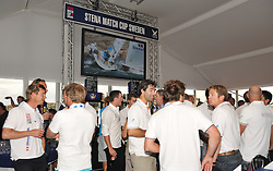 The skippers enjoying the Womens Prize Giving ceremony. Photo: Chris Davies/WMRT
