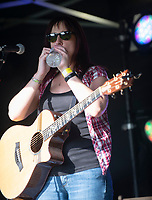 Anna Neale live at the picnic at the castle,Warwick Castle photo by Brian Jordan