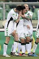 esultanza gol Sergio Floccari Sassuolo <br /> Verona 20-12-2015 Stadio Bentegodi Football Calcio Serie A 2015/2016 Hellas Verona - Sassuolo<br /> foto Daniele Buffa/Image Sport/Insidefoto