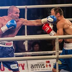 20141017: SLO, Boxing - WBO-Europe champion, Dejan Zavec vs Ferenc Hafner