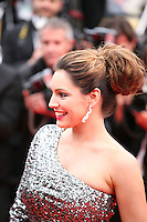 Kelly Brook arriving at the Vous N'Avez Encore Rien Vu gala screening at the 65th Cannes Film Festival France. Monday 21st May 2012 in Cannes Film Festival, France.
