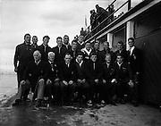 Water Polo - Ireland vs Wales at Blackrock baths, Dublin.27/07/1957, dlr,